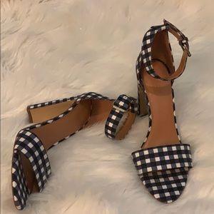 J.crew heels 💙